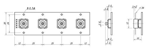 LC-4S外形寸法図