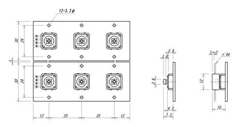 LC-6S外形寸法図